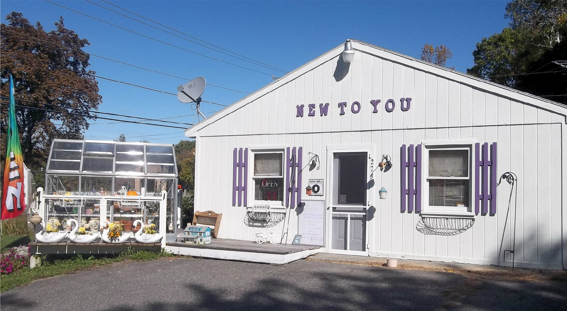 New To You Shop in Unity Maine